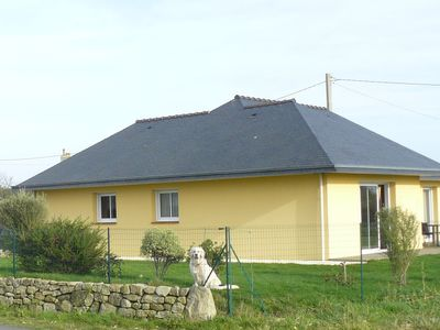 Photo for House single storey, fenced 400 m from the beach of pors-Carn