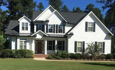 Photo for Masters Golf Listing - Beautiful Home on 5 Acres and 25 acre lake