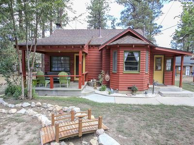 Photo for A Sweet Pine Cabin - FREE Kayak/Bike Rental! - 3Br/1BA/WiFi/Roku/Netflix
