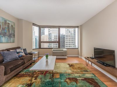 Photo for ♛Business-Ready Apt w/ Pocket Wi-Fi & King Bed ♛
