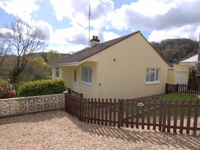 Photo for TEIGN VIEW, pet friendly, with a garden in Lower Ashton, Ref 967304