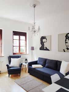 Photo for Super central in Bremen-center, WiFi, up to 4 people, long-term stay willk.!