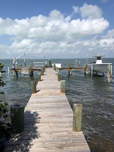 Photo for Beautiful bay front 4/4 in key largo with amazing sunsets