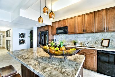 """This is a Designer Kitchen from """"Top to Bottom"""", open to the Lanai"""
