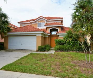 Photo for 137 Nice 5-Bed Pool Home Gated 2-King Masters!
