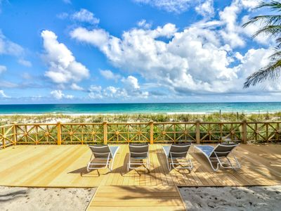 Photo for *Save over 15% - Discounted Summer Rates* 6 bed Oceanfront/4 night min*