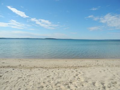 Photo for LOCATION LOCATION LOCATION! **Booking Fall 2019!** 100' Sandy Private Beach!