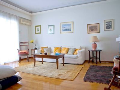 Photo for Apartment in Athens with Lift, Internet, Washing machine, Air conditioning (750804)