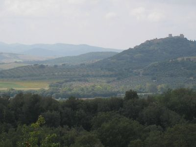 Photo for Modern/rustic farm house, with the best views in Maremma, a piece of heaven!