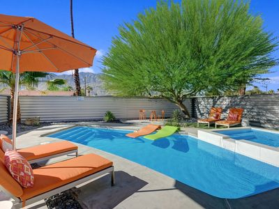 Photo for Mid-Century Palm Springs Home with pool and hot tub