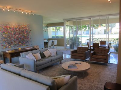 Photo for Palm Springs - Seven Lakes -- Featured Twice on Mid-Century Modernism Week Tour