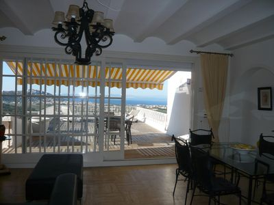 Photo for Roof house, sea view, private pool not overlooked, WiFi HUTG 033056-33