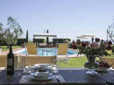 Photo for Villa Capannole Tontenano with private pool chianti tuscany