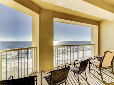 Photo for Oceanside dream condo w/ panoramic views & shared pool