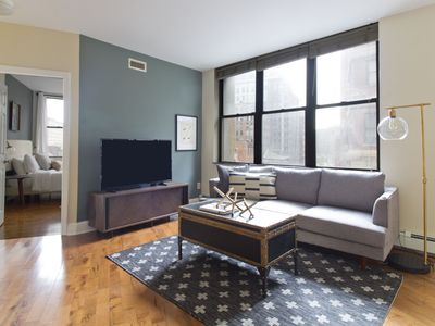 Photo for Sophisticated 1BR in Financial District by Sonder