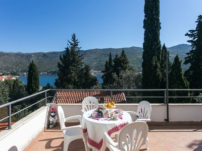 Photo for Apartments Tramonto (47751-A2) - Zaton Veliki (Dubrovnik)