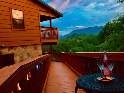 Mountain View Cabin ♥ Smoky Mountains