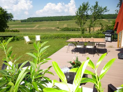 Photo for Charming house 4 stars, Air-conditioned, in vineyards, near Beaune - Dijon