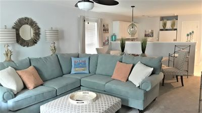 Photo for Designer Decorated,Luxurious Bedding,Minutes to Beach,Golf,Dining and Shopping