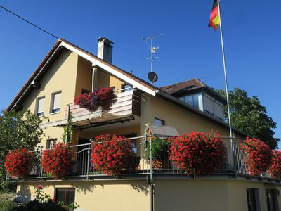 Photo for **** Apartment, 15min. Lake Constance, 90 sqm, family-friendly, up to 6 persons