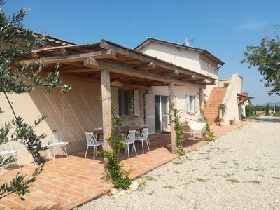 Photo for villa in the countryside between vineyards and olive groves