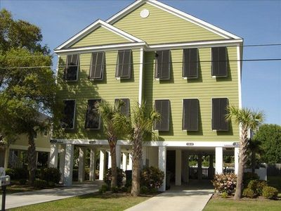 Photo for Surfside Beach 5 BR/4 BA - Steps to Beach, great for Families!