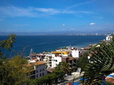 Photo for Ocean View with Private Balcony, Walk to downtown and Beach