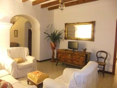 Photo for Mallorcan countryside House with pool ideal for 2 to 8 person