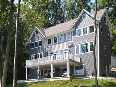 Photo for Beautiful Lakefront Home- Sleeps 20