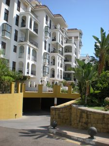 Photo for Superb front line beach apartment with large balcony having sea and marina views
