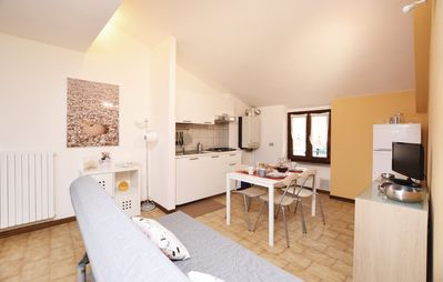Photo for 1BR Apartment Vacation Rental in Toscolano Maderno (BS)
