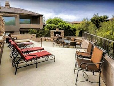 Photo for Luxury Foothills Condo/Golf Course & Mountain  View