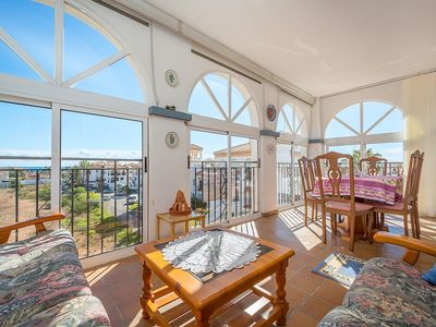 Photo for Bungalow with 180 degrees sea view