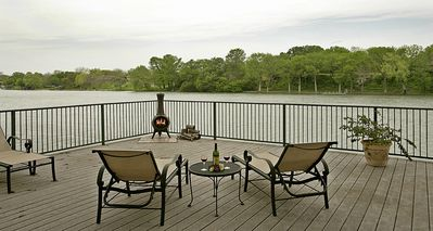 Photo for Beaulieu - Beautiful Place in New Braunfels on Lake Dunlap - R&O Getaways Rental