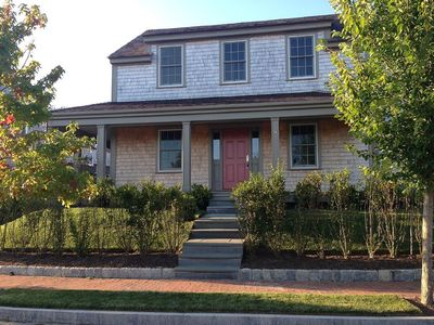New, Well Appointed 5 BR / 5.5 BA Home. Short Walk To Steps Beach & Town.