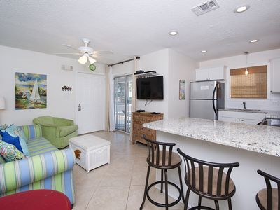 Photo for Steps from the Sand - Cozy 2 bedroom/2 bath Ground Floor Unit in Seagrove