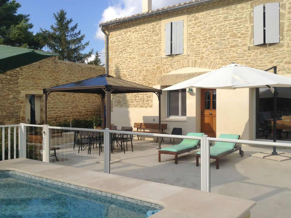 Beautiful Holiday Home With Enclosed Private Swimming Pool Near The Village Of Aubais Aubais