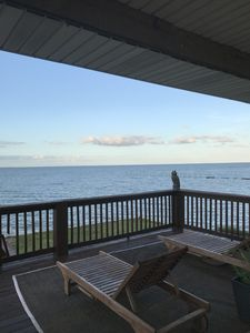 Great view and deck