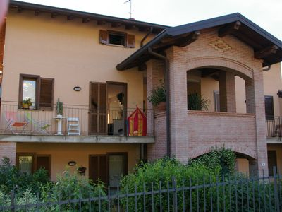 Photo for BEAUTIFUL HOUSE on the LAKE of COMO near the mouth of the ADDA river