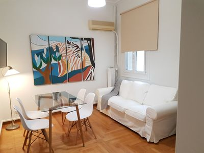 Photo for Nimbus Apartment (A large apartment of 120 sq.m., sunny, airy and renovated)