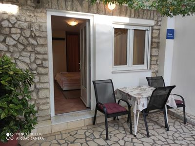 Photo for Studio flat with terrace Selce, Crikvenica (AS-5550-d)