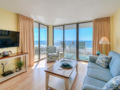 Photo for Booking for Spring and Summer 2020 for Ocean Front 2 Bedroom/2Bath Condo!