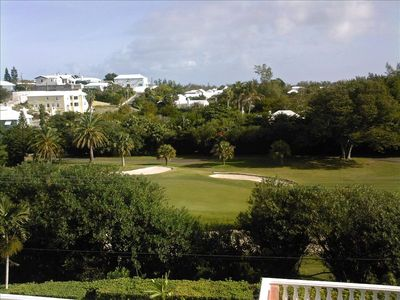 View of Port Royal Golf Course from the vacation home.