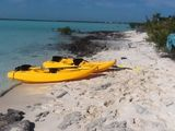 4 Double Beds Water Front On Bone Fish Flats 10 min drive to George Town Exuma