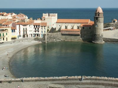 Photo for Apartment COLLIOURE sea nearby historic center