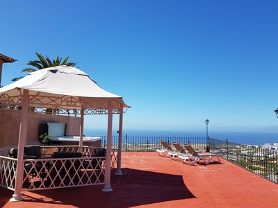 Photo for Country house in Canarian style, very quiet location, sea view, very large terrace
