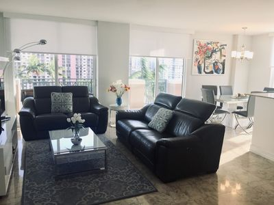 Photo for FULLY FURNISHED LUXURY APT 3/2- Sunny Isles Beach -around North Miami Beach area
