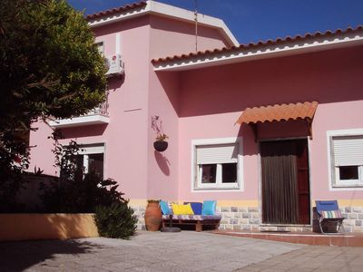 Photo for Typical portuguese house with garden by the sea, children and dogs welcome