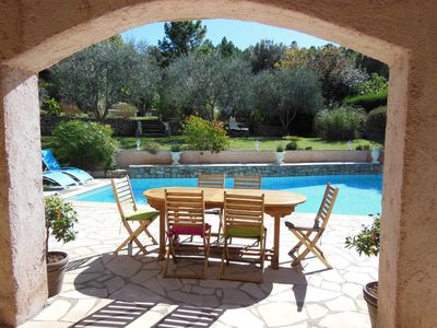 Photo for Charming Provencal House with Pool in the middle of a large garden