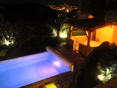 Photo for Villa sea view, panoramic view, swimming pool, near Sanary, Bandol, Six ovens